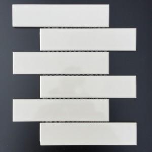 2X8 BRICK WHITE GLOSSY (CZG201BT)